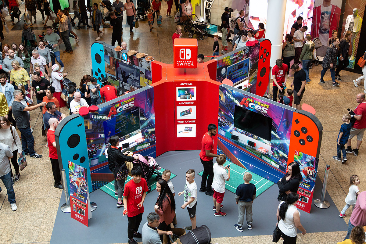 Nintendo Switch Promotion Meadowhall