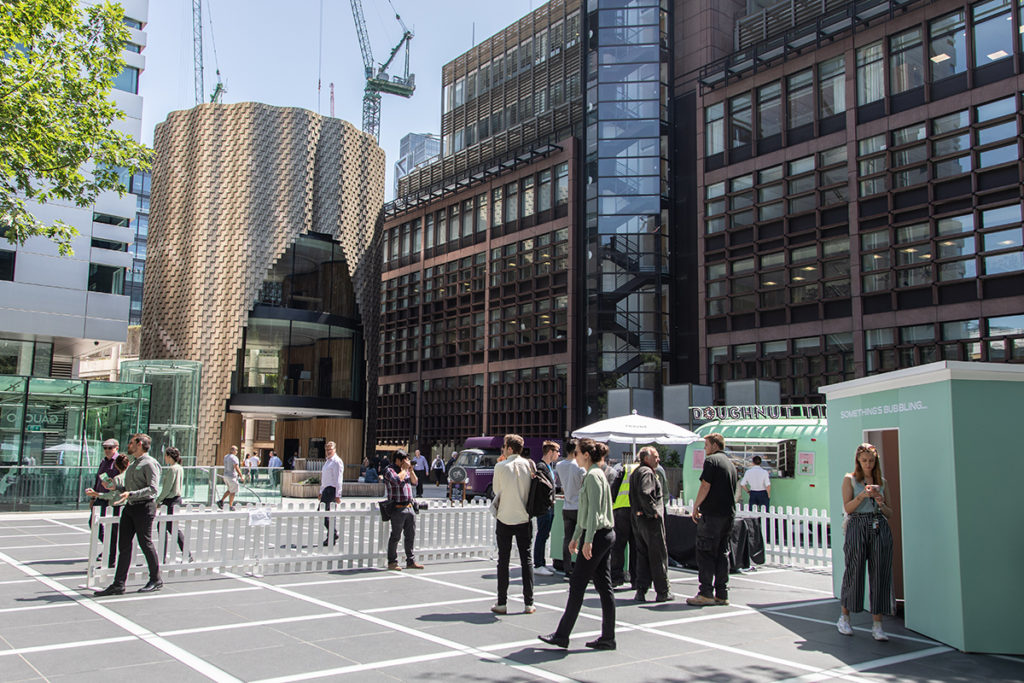 Pravha Experiential Activation in London Broadgate