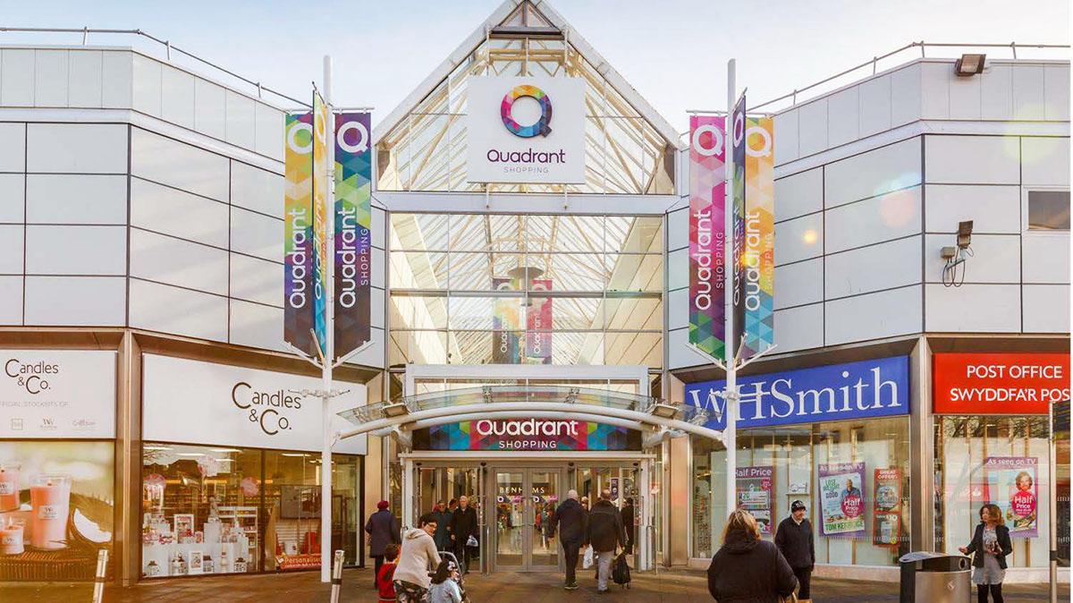 Shopping Centre Swansea