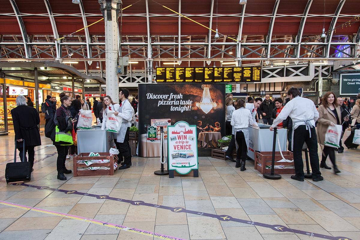 Network Rail Ristorante Pizza
