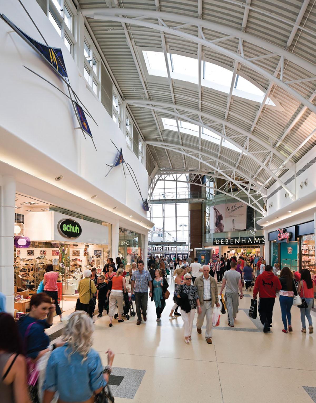 City of Sunderland Shopping Mall