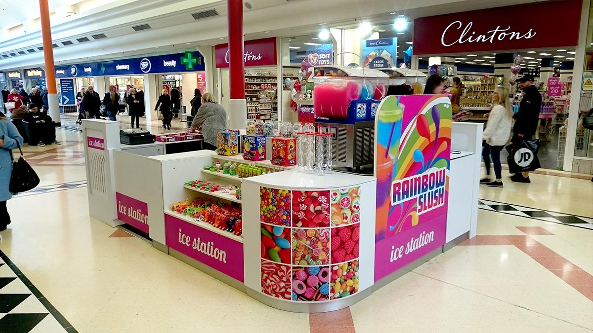 The Ice Station Bridges Shopping Centre POP Retail