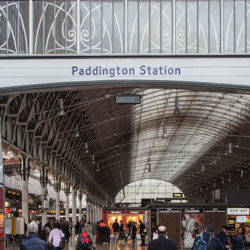 Central London Paddington Station