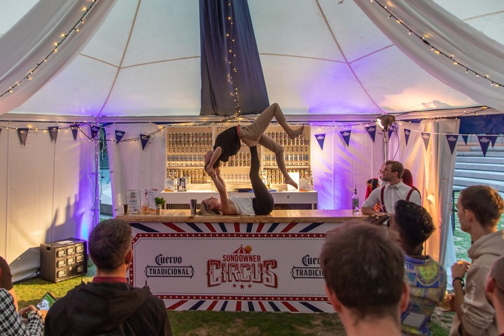 Jose Cuervo Circus At Broadgate