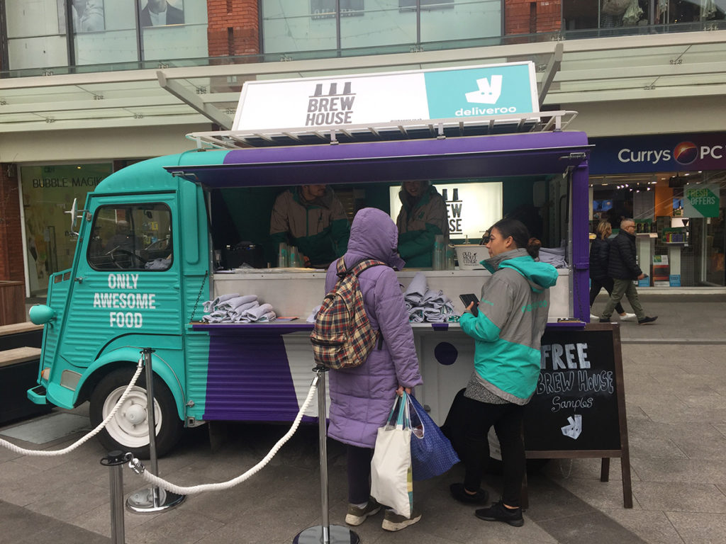 Deliveroo at Ealing Broadway Shopping Centre