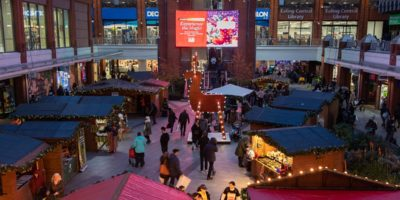 Ealing Broadway Christmas Market on external promotional space