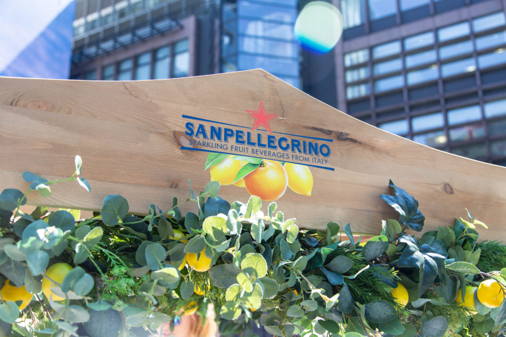 San Pellegrino Broadgate, June 2018