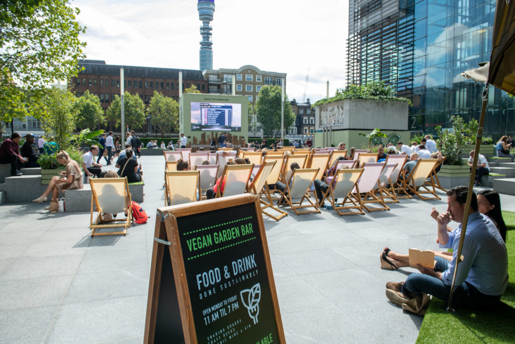Regents Place has multiple promotional space opportunities
