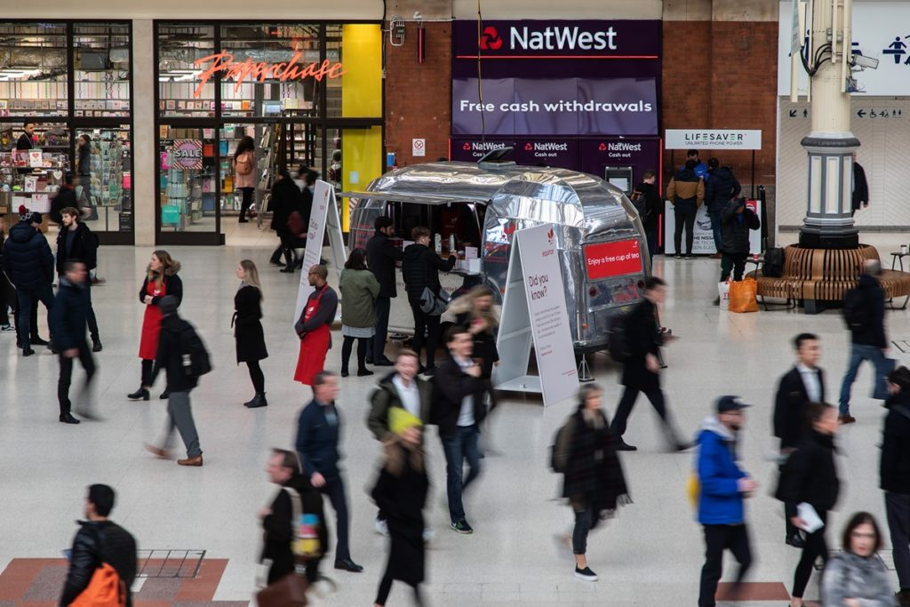 Equinor Brand Awareness Campaign at London Victoria Station