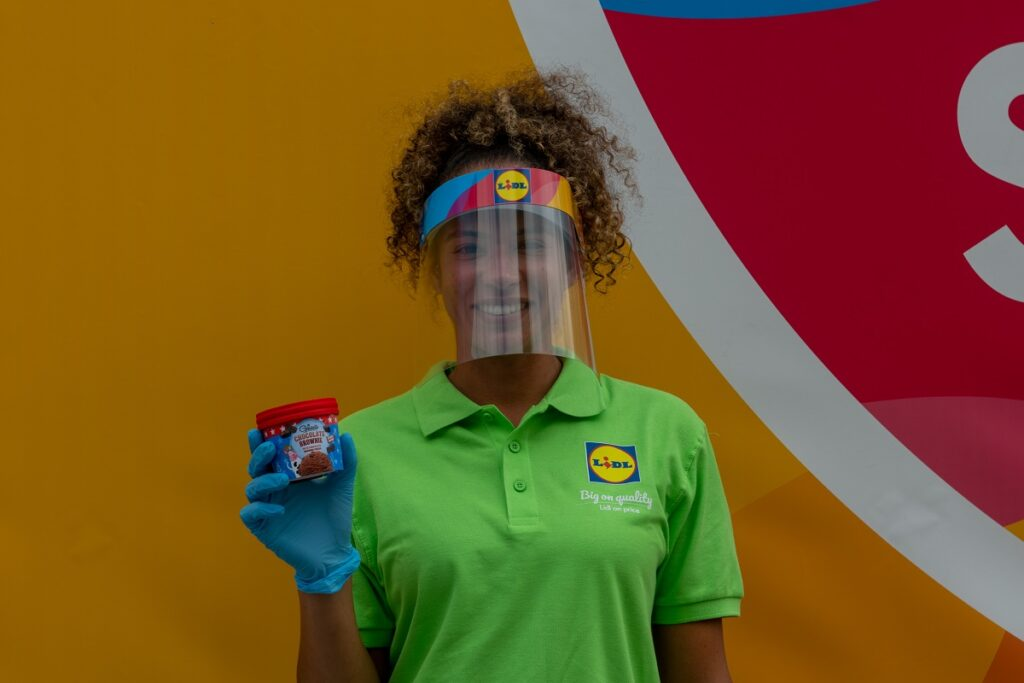 """Brand ambassador at Lidl's """"big on not missing out"""" campaign"""