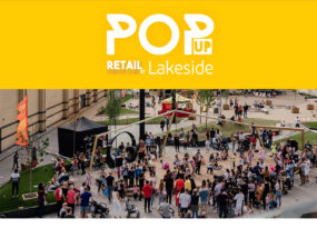 Book Pop Up Space at Lakeside Shopping Centre