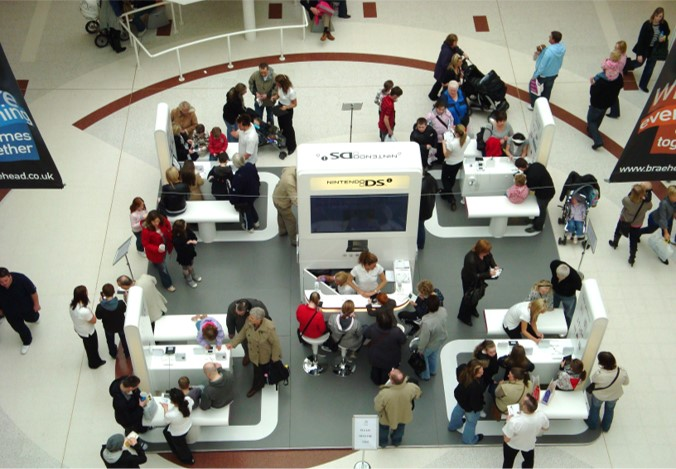 Braehead promotion space can be used for brand activations
