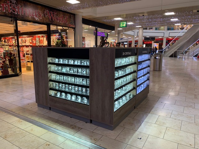 Metrocentre promotional spaces for pop-up retail throughout the centre