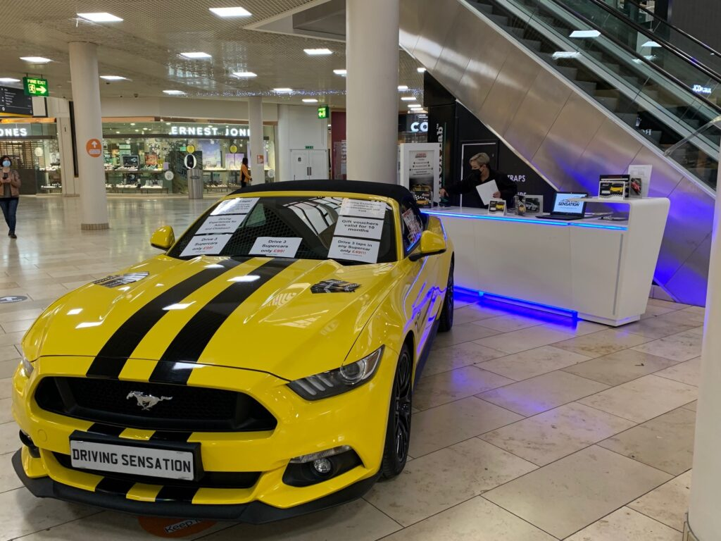 Metroentrepromotional space for car promotions