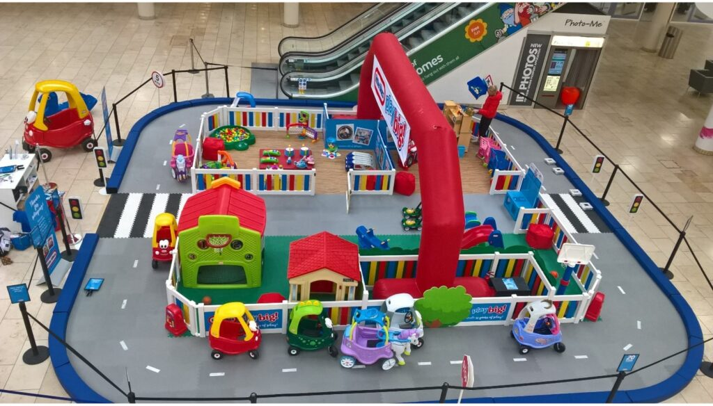 Town Square Metrocentre promotional space offers a fantastic platform for experiential activations.