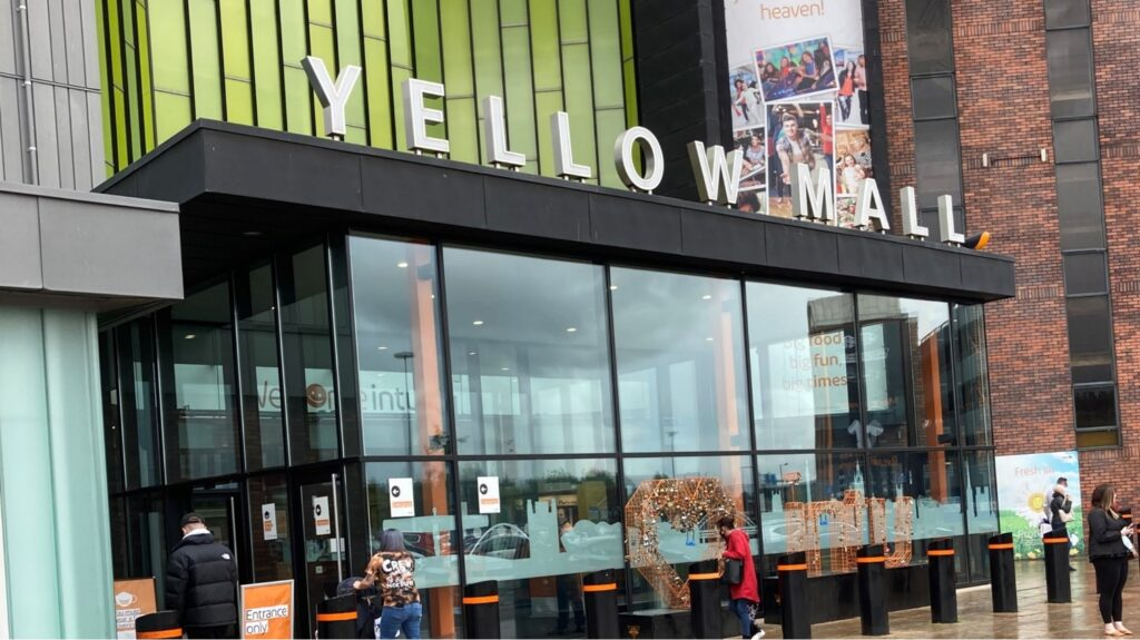 Metrocentre promotional space both internally and externally for brand experience, promotions and pop-up retail