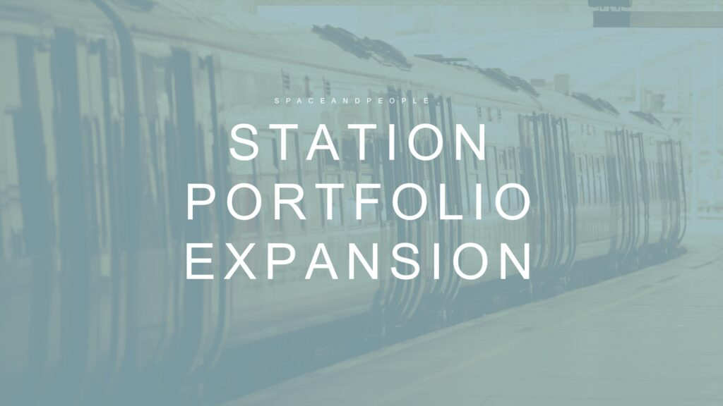 SpaceandPeople announces train station network expansion with regional networks now on its service