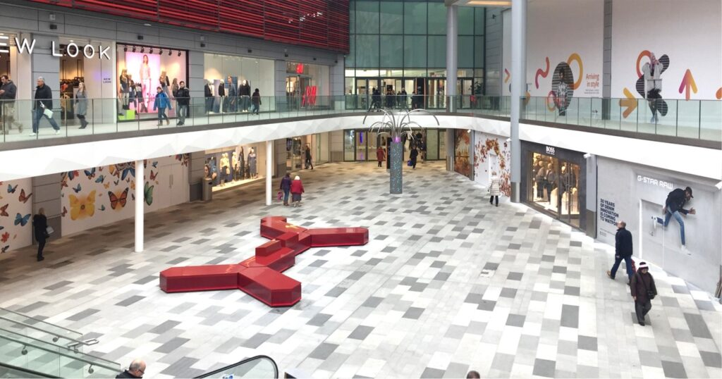 Atria Watford Shopping Centre Promotional Space Example
