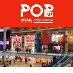 Book pop-up retail space at atria Watford