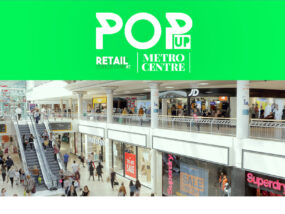 Book Pop-up Retail Space at Metrocentre
